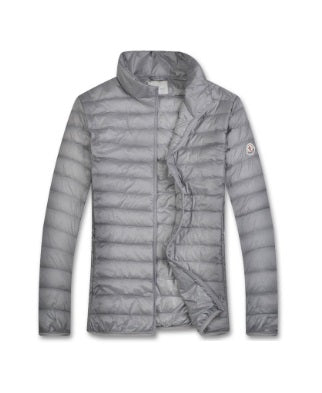 Moncler Grey Homme quilted jacket