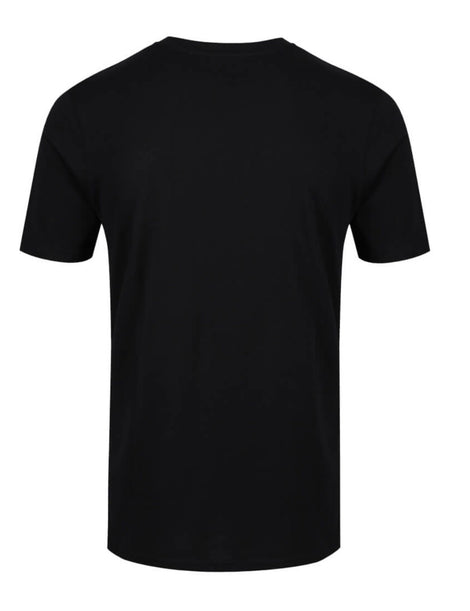 Munazul Block tee in black