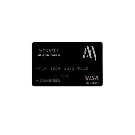Munazul Royalty Card