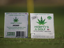 "Load image into Gallery viewer, Hempty's Golf™  3""  Hemp Infused Golf Tees as low as $10/Pack of 4 Tees"
