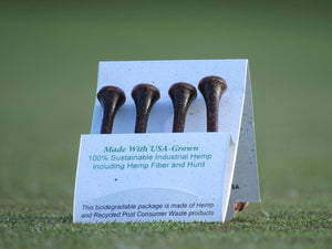 Wholesale  - Hempty's Golf™ Hemp Golf Tees