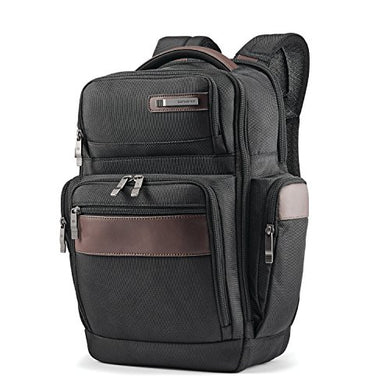 Samsonite Kombi 4 Square Backpack, Black/Brown