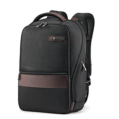 Samsonite Kombi Small Backpack, Black/Brown