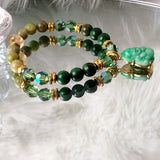Zenfully Successful Buddha Jewelry | Jade Bracelet | Swarovski Crystal Bracelet | Healing Bracelet | Inspirational Jewelry