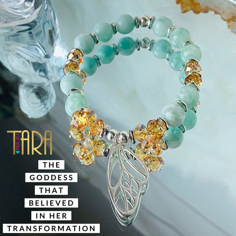 The Goddess that Believed in Her Transformation | Inspirational Swarovski Crystal Jewelry | Butterfly Bracelet | Christmas Gift for Her