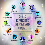 Zodiac Expressions | The Companion Crystal | Virgo Goddess Bracelet ~ Inspirational Swarovski Crystal  & Gemstone Jewelry