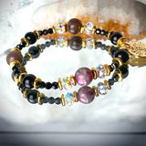 Zodiac Expressions | The Companion Crystal | Scorpio Goddess Bracelet ~ Inspirational Swarovski Crystal  & Gemstone Jewelry