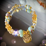 Zodiac Expressions | The Companion Crystal | Aries Goddess Bracelet ~ Inspirational Swarovski Crystal  & Gemstone Jewelry