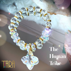 The Human Tribe | Crystal Quartz Jewelry | Inspirational Swarovski Jewelry | Gifts for Her