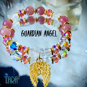 Guardian Angel | Inspirational Swarovski Crystal Jewelry | Crystal Jewelry | Statement Bracelet | Anniversary Gift for Her