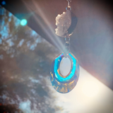 The Earth & Sun | Drusy Angel Aura Quartz & Helios Sun Catcher