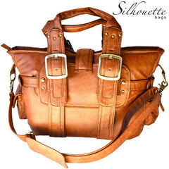 Silhouette Camera Bag - Chestnut