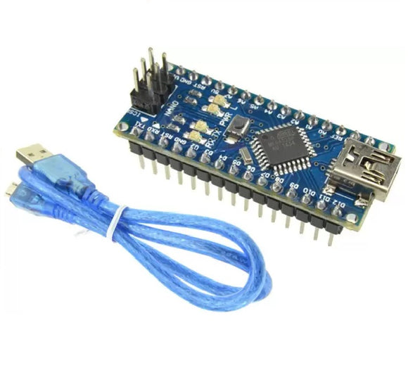 Arduino Nano Soldered with cable