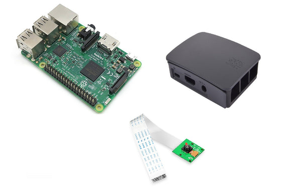 Raspberry kit with Raspberry Pi 3B+,Raspberry Pi Camera and Raspberry Pi Case