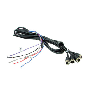 Extra Camera Cable Harness with 4 Inputs & Power (V2 Monitor)