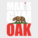 Max's Gym OAK Sticker