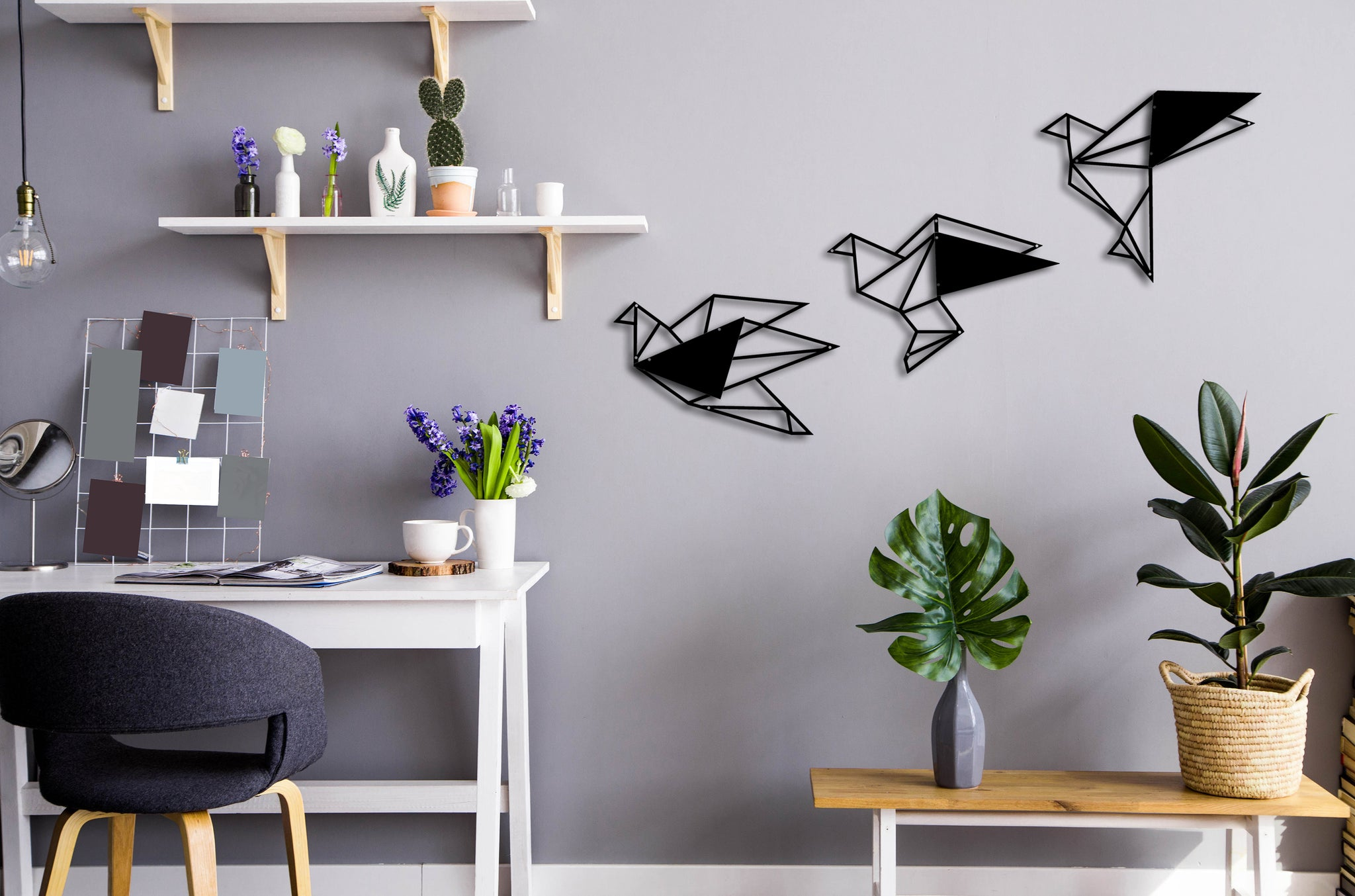Geometric Black Birds