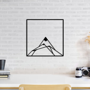 mountain-metal-wall-art