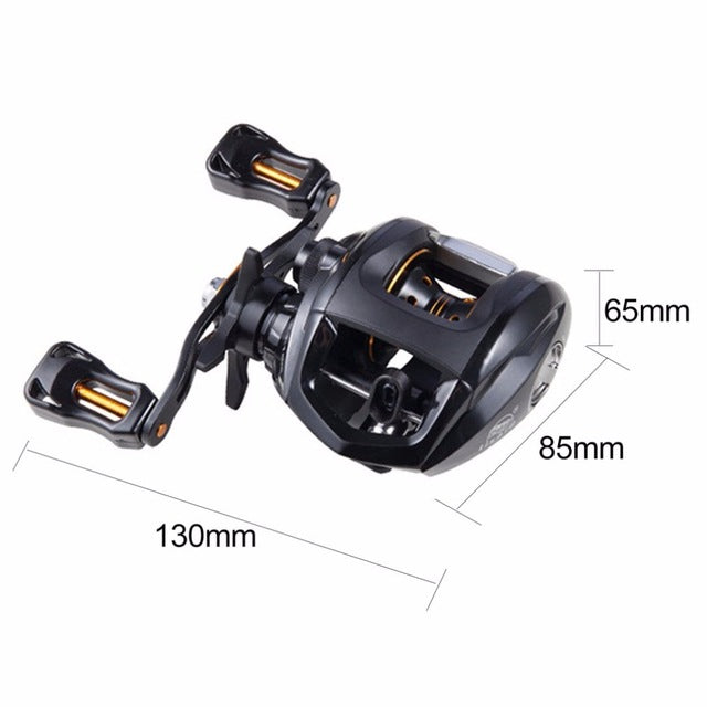 12+1BB G-ratio Left/Right Hand Baitcasting Reel - Colorado Outfitters