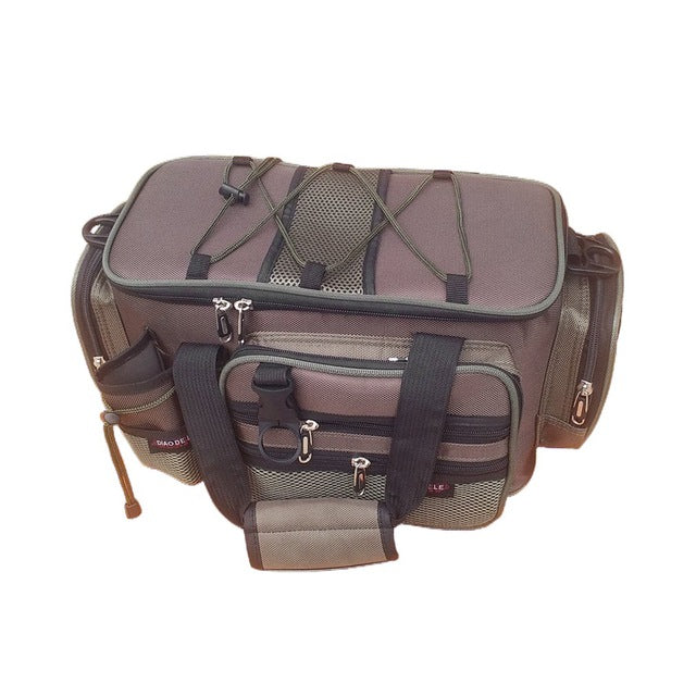 Multifunction Canvas Fishing Bag - Colorado Outfitters