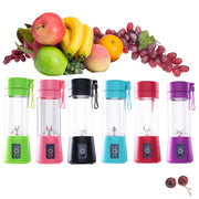 400ml Portable Juice Blender USB Juicer Cup