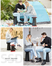 Retractable Folding Camping Stool