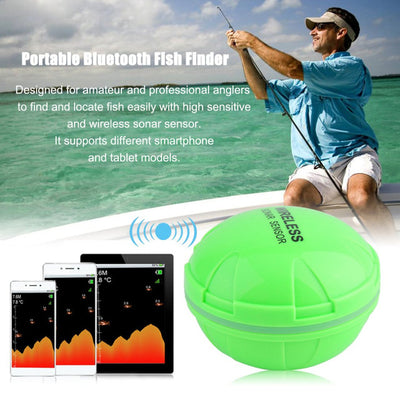 Portable Bluetooth Fish Finder Sea Fish Detect - Colorado Outfitters