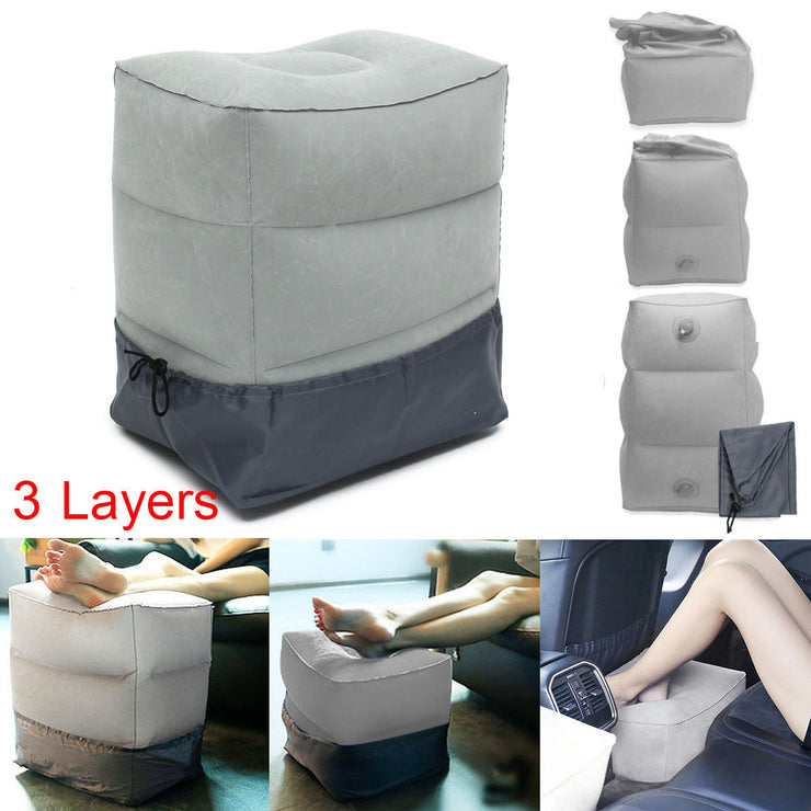 Inflatable Portable Travel Footrest Pillow - Colorado Outfitters
