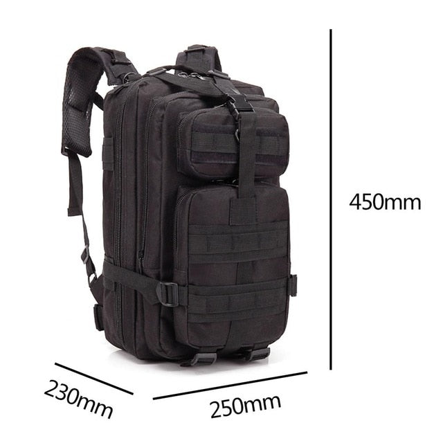 30L Waterproof Outdoor Military Tactical Backpacks - Colorado Outfitters