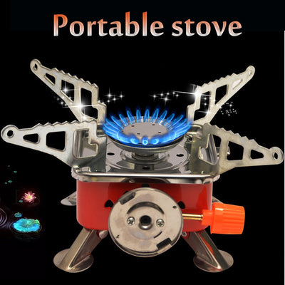 Windproof Foldable Portable Stove Burner - Colorado Outfitters