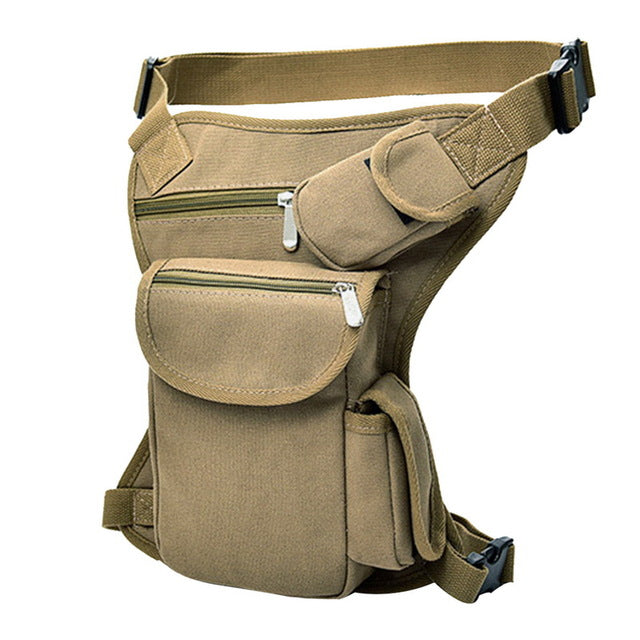 Military Tactical Portable Motorcycle Riding Waist Leg Bag - Colorado Outfitters