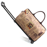 Trolley Traveling Rolling Luggage - Colorado Outfitters