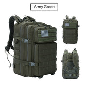 Men 50L Capacity Military Tactical Backpack - Colorado Outfitters