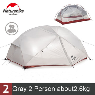 2 Person Waterproof Double Layer Outdoor Tent