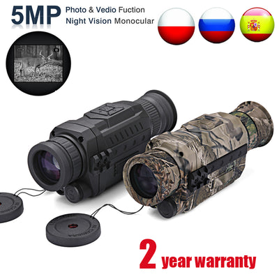 Infrared Digital Night Vision Monocular - Colorado Outfitters