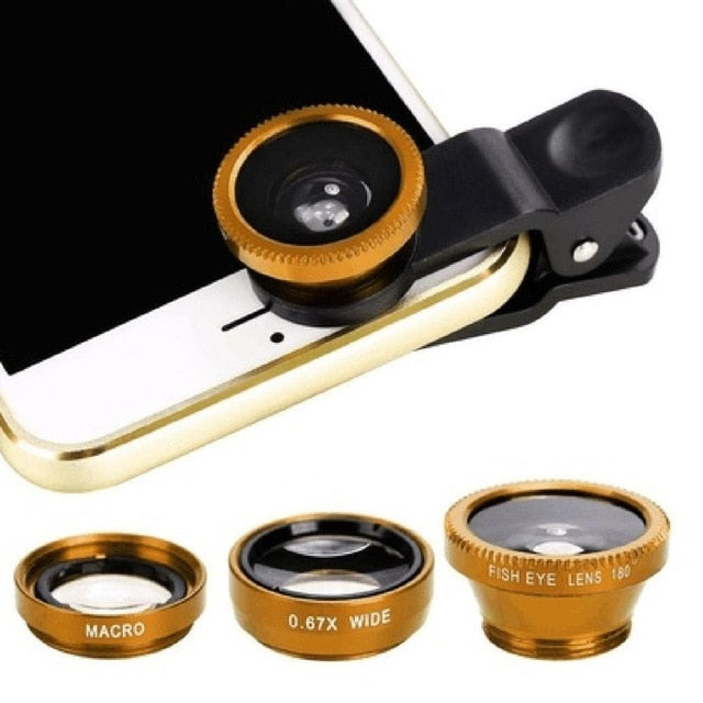 3-in-1 Wide Angle Macro Fisheye Lens - Colorado Outfitters