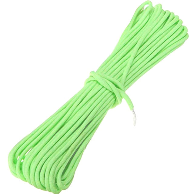 Glowing Nylon Paracord Parachute Rope - Colorado Outfitters