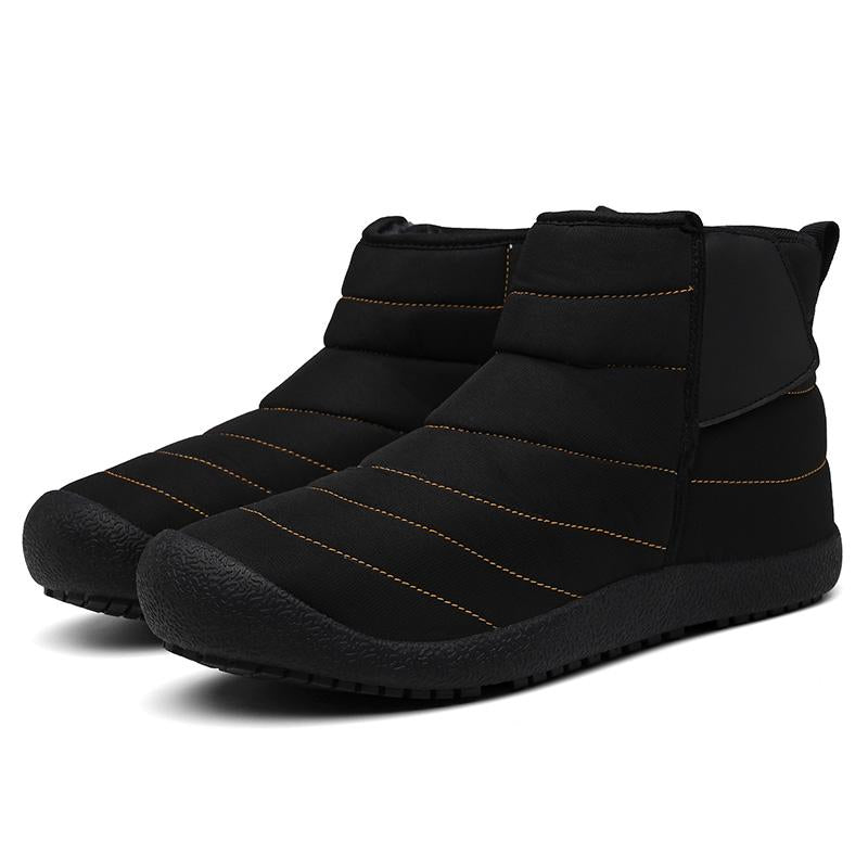 Waterproof Velvet Thick Plus Size Snow Boots