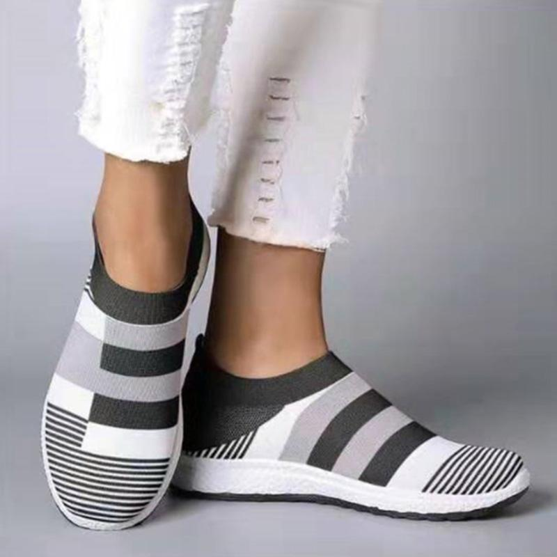 Casual Well-ventilated Color Block Sneakers