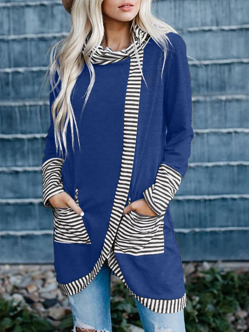 Long Sleeved Stripes T-shirt