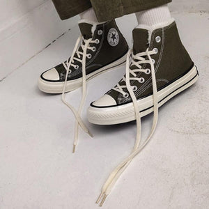 Winter Classic Solid Lace-up Ankle Sneakers