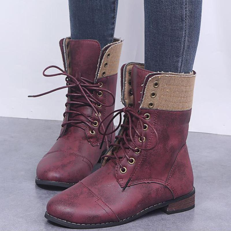 Lace-up Vintage Martin boots