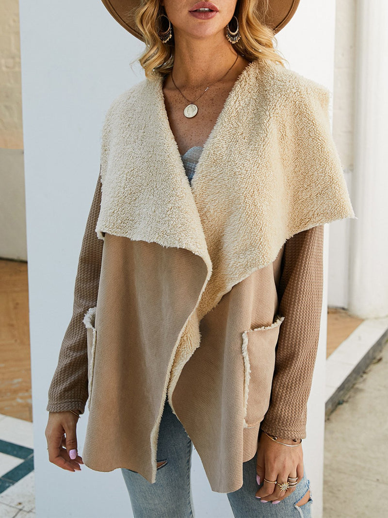 Irregular Thickening Coat