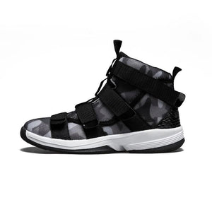 Camouflage Lace-up Basketball Shoes