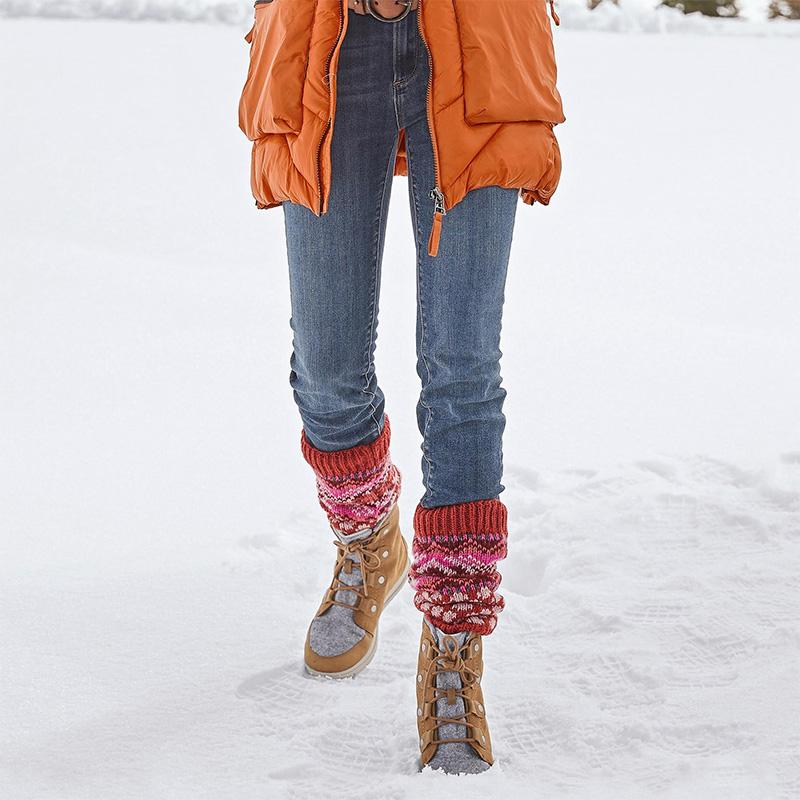 Comfy Lightweight Lace Up Snow Boots