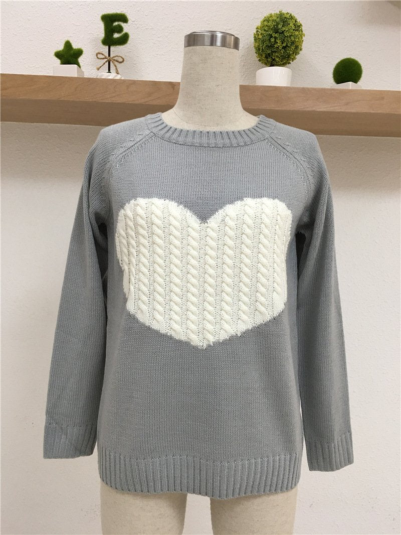 New Autumn and Winter Basic Casual Slim Jersey Sweater