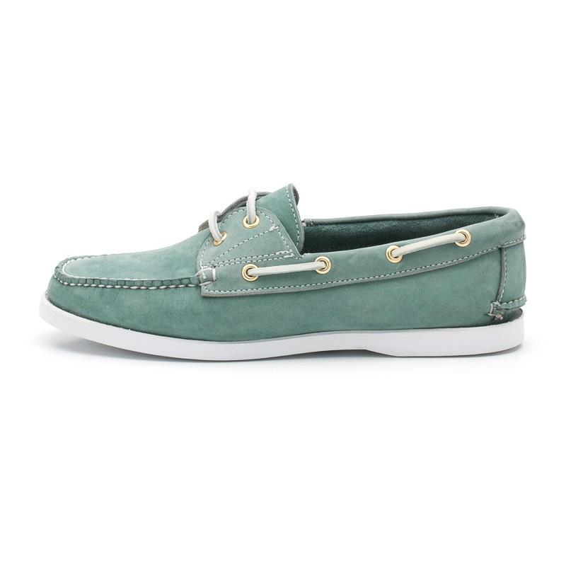 Flocking/Pu Cross String Lace-Up Slip-On Flats Loafers