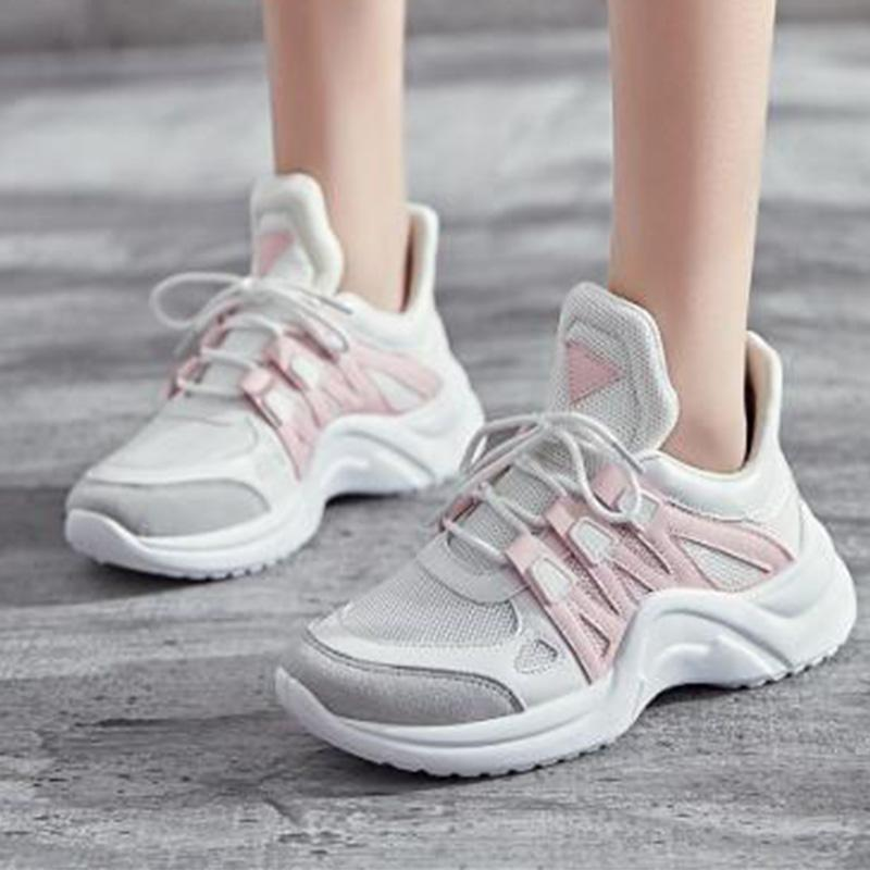 Warm Lace-Up Fashion Casual Sneakers