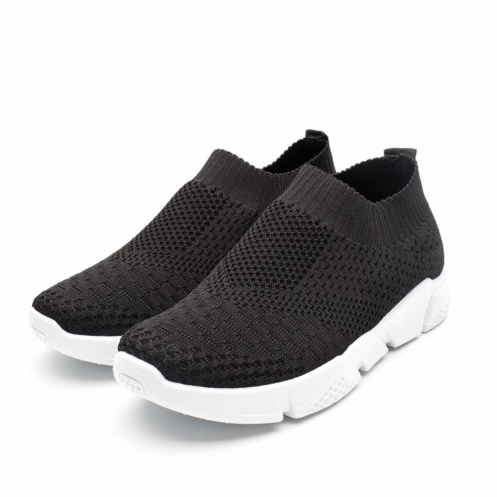 Student'S Gym Slip-On Breathable Sock Sneakers