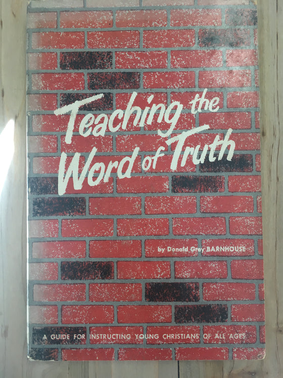 Teaching the word of truth - ChezCarpus.com